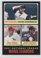 Curt Schilling, Matt Morris, Randy Johnson