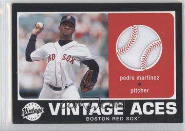 2002 Upper Deck Vintage - Vintage Aces #A-PM - Pedro Martinez