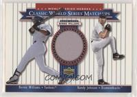 Bernie Williams, Randy Johnson [EX to NM]