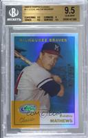 Eddie Mathews [BGS 9.5 GEM MINT]
