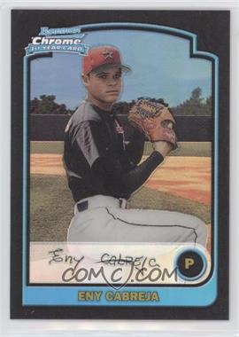 2003 Bowman Chrome - [Base] - Refractor #190 - Eny Cabreja