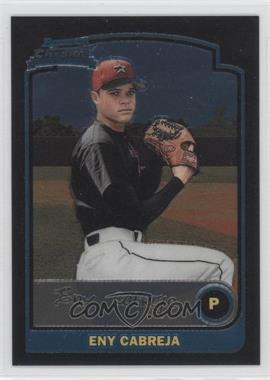 2003 Bowman Chrome - [Base] #190 - Eny Cabreja