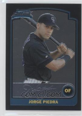 2003 Bowman Chrome - [Base] #282 - Jorge Piedra
