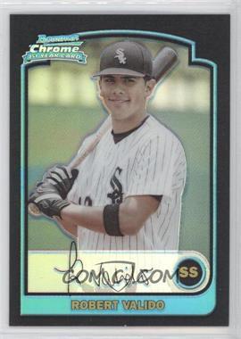 2003 Bowman Draft Picks & Prospects - [Base] - Chrome Refractor #BDP85 - Robert Valido