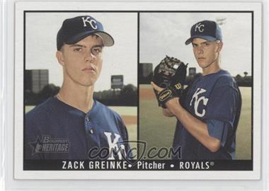 2003 Bowman Heritage - [Base] #164 - Zack Greinke