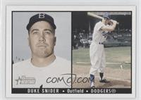 Duke Snider (Double Image)