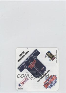 2003 Cracker Jack All Stars - Food Issue Instant Win Game #TOHU - Torii Hunter