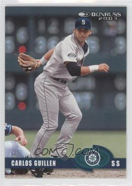 2003 Donruss - [Base] - Sample #188 - Carlos Guillen