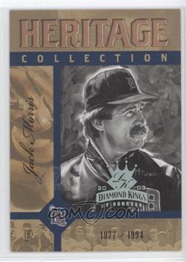 2003 Donruss - Heritage Collection #HC-11 - Jack Morris /20