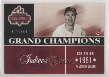 2003 Donruss Champions Grand Champions Gc 2 Bob Feller