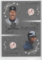 Don Mattingly, Bernie Williams /50