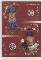 Ryne Sandberg, Kerry Wood /50