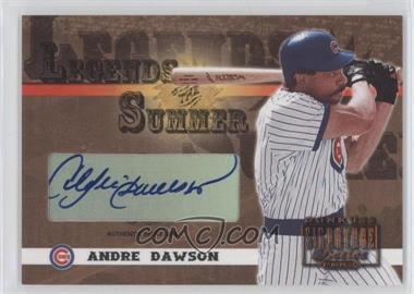2003 Donruss Signature Series - Legends of the Summer - Bronze Authentic Signature [Autographed] #LS-3 - Andre Dawson