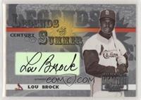 Lou Brock #/100