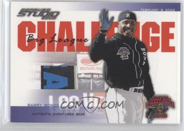 2003 Donruss Studio - Big League Challenge - Materials [Memorabilia] #BLC-40 - Barry Bonds