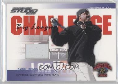 2003 Donruss Studio - Big League Challenge - Materials [Memorabilia] #BLC-42 - Barry Bonds