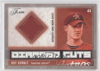 2003 Flair - Diamond Cuts Jerseys #DC-RO - Roy Oswalt