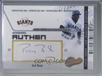 Barry Bonds #/250