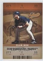 Sean Burroughs #/100