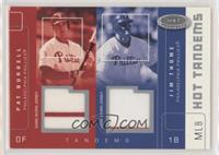 Pat Burrell, Jim Thome [EX to NM] #/100