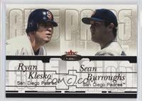 Ryan Klesko, Sean Burroughs #/64