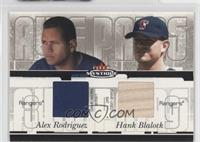 Alex Rodriguez, Hank Blalock /100