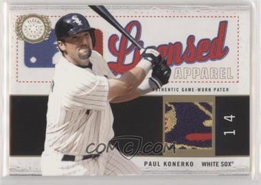 2003 Fleer Patchworks - Licensed Apparel - Patch #PK-LA - Paul Konerko /300