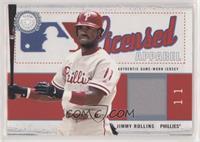 Jimmy Rollins #/500