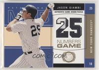 Jason Giambi #/300