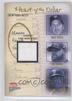 Mike Piazza, Mo Vaughn, Roberto Alomar (Roberto Alomar Jersey) #/400