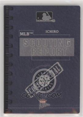 2003 Fleer Platinum - MLB Scouting Report #ICSU - Ichiro Suzuki /400