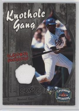 2003 Fleer Splendid Splinters - Knothole Gang Jersey #VG-KG - Vladimir Guerrero
