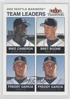 Mike Cameron, Bret Boone, Freddy Garcia /100