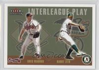 Greg Maddux, Barry Zito #/100