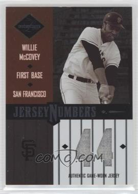 2003 Leaf Limited - [???] #JN-54 - Willie McCovey /50