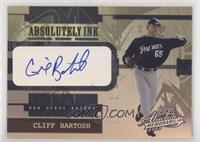 Cliff Bartosh #/15