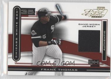 2003 Playoff Piece of the Game - [Base] #POG-32 - Frank Thomas (Jersey)