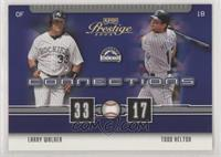 Larry Walker, Todd Helton [EX to NM] #/100