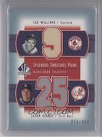 Ted Williams, Jason Giambi /406