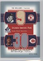 Ted Williams, Ken Griffey Jr. /406