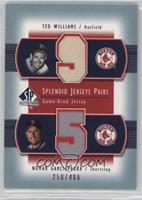 Nomar Garciaparra, Ted Williams #/406
