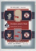 Ted Williams, Nomar Garciaparra /406