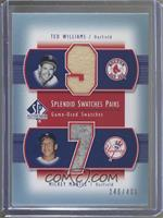 Ted Williams, Mickey Mantle /406