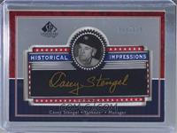 Casey Stengel #/200