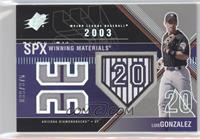 Luis Gonzalez (Unform Number within Home Plate) /375