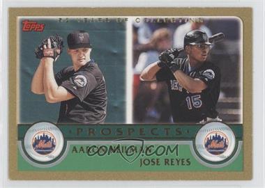 2003 Topps - [Base] - Gold #684 - Aaron Heilman, Jose Reyes /2003
