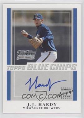 2003 Topps - Team Topps Blue Chips Autographs - [Autographed] #TT-JH - J.J. Hardy