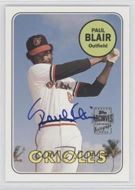 2003 Topps All-Time Fan Favorites - Autographs #FFA-PB - Paul Blair