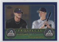 Chad Tracy, Lyle Overbay