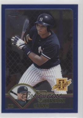 2003 Topps Chrome Traded & Rookies - [Base] #T200 - Robinson Cano